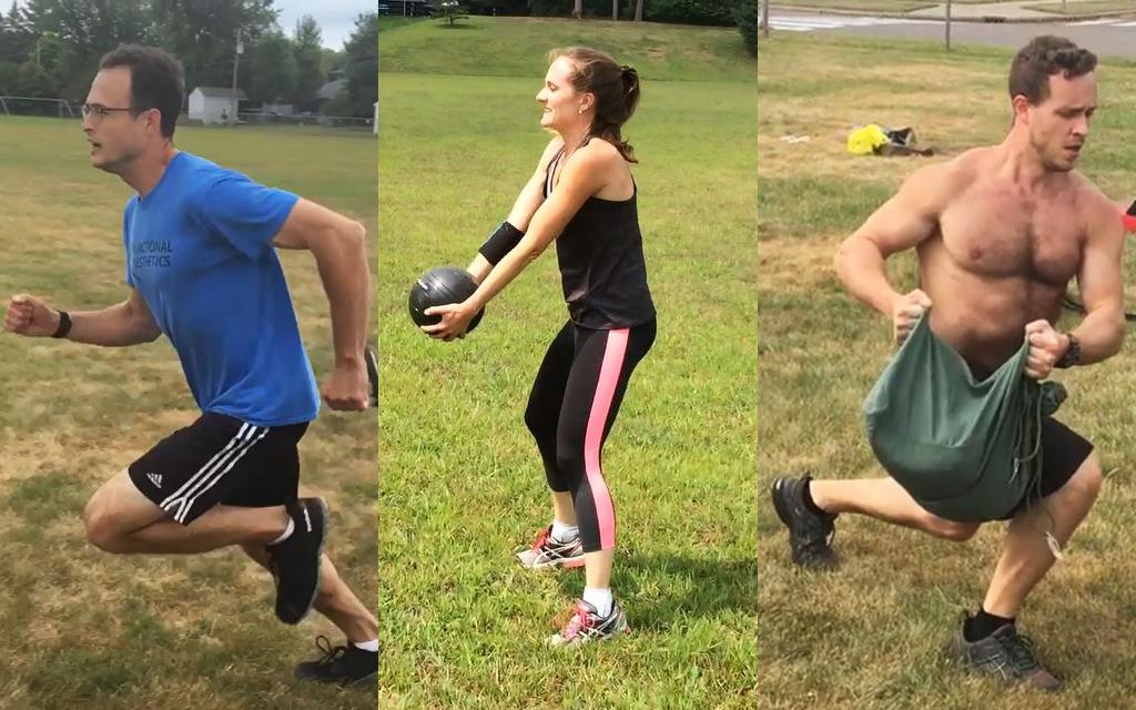 group hybrid training